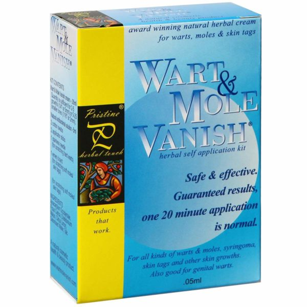 Wart and Mole Vanish Treatment
